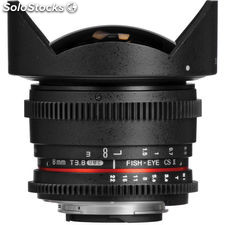 Samyang 8mm T3.8 umc Fish-Eye cs ii Lens for Sony nex ,Sony a, Nikon f