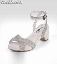 Sandalias canvas Blanco Talla:38