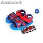 Sandalias playa con velcro spiderman