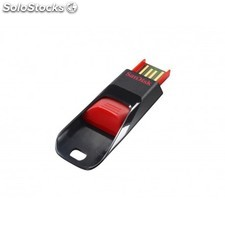 Sandisk - Cruzer Edge, 32GB 32GB USB 2.0 Capacity Negro, Rojo unidad flash USB