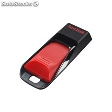 Sandisk - Cruzer Edge 64GB USB 2.0 Type-A Negro, Rojo unidad flash USB
