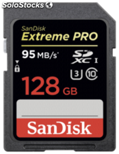 SanDisk Extreme Pro sdxc 128GB 95MB/s sdsdxpa-128G-G46