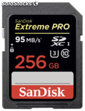 SanDisk Extreme Pro sdxc 256GB 95MB/s sdsdxpa-256G-G46