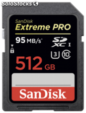 SanDisk Extreme Pro sdxc 512GB 95MB/s sdsdxpa-512G-G46