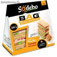 Sandw.bag poulet + cookie