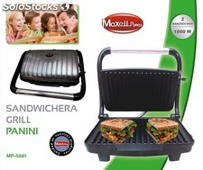 Sandwichera Grill Panini Maxell Power MP-5681