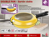 Sarten Doble Para Tortilla We Houseware