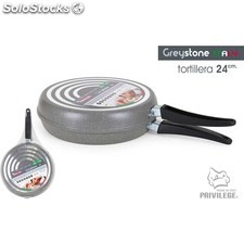 Sartén tortilla 24CM/1MM greystone - privilege - 8433774601104 - BE06021360110