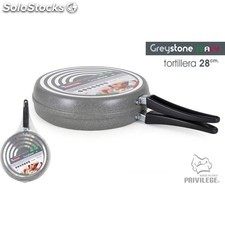 Sartén tortilla 28CM/1MM greystone - privilege - 8433774601128 - BE06021360112