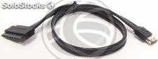 Sata Data Cable eSATAp supply 5V to 12V 40cm (UE60)