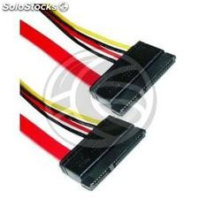 Sata Data Cable + Power 7P15P h/h 50cm (TA01)