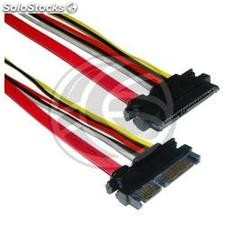 Sata Data Cable + Power 7P15P m/h 50cm (TA11)