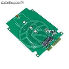 SATA hard drive adapter to SDD NGFF M.2 a port with aluminum (MS23)