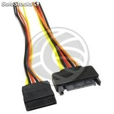 SATA Power Cable 15-pin male/female 50 cm (FE81)