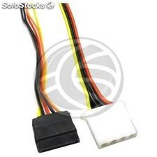 Sata Power Cable 15P 4P Molex Female to male 50 cm (FE91)