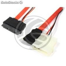 Sata Power Cable MicroSATA to 7P9P-h-h 100cm 7P4P 3.3V/5.0V (DN93)