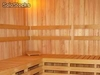 Saunas contra pared