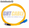SC fibrá óptica cable patch cord fiber optic 3m