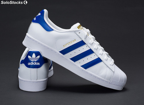 adidas superstar blu