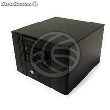 Scatola mini itx cubica con 2 sata hdd 220x154x245mm (CK55)