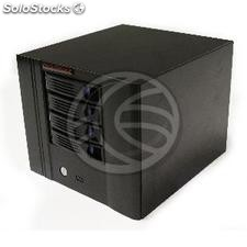 Scatola mini itx cubica con 4 hdd sata 220x154x245mm (CK56)
