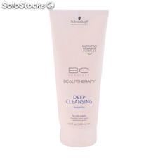 Schwarzkopf - bc scalp therapy deep cleansing shampoo 200 ml