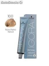 Schwarzkopf Igora Royal Highlift Coloración Permanente 10-0 | Rubio Platino
