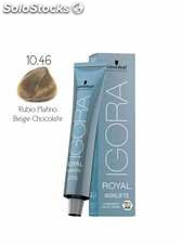 Schwarzkopf Igora Royal Highlift Coloración Permanente 10-46 | Rubio Platino