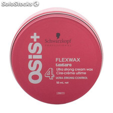 Schwarzkopf - OSIS FLEXWAX texture ultra strong cream wax 50 ml