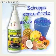 Sciroppo per Granita Tropical Blue