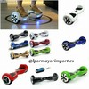 Scooter Electrico Patinete electrico Patinete hoverboard con asa bluetooth luces - Foto 2