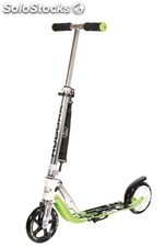 Scooter Hudora Big Wheel 180 - Patinete clásico, color verde