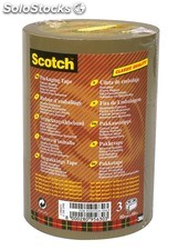 Scotch 3 roul. Adh. Brun 50M