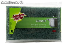 Scotch Brite Estropajo Fibra Verde Popular Scotch Brite