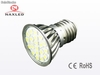 Screw e27 led spot light, 3.5Watt, high bright 5050 smd LEDs, clear glass cover