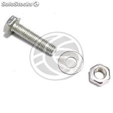 Screw nut and washer 40mm M10 silver (XT91)