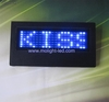 Scrolling Message led name badge