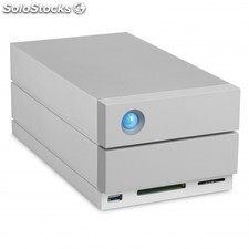 Seagate - 2BIG dock 20 tb thb 3 ext thb 3 cable 1X USB3.1 port in