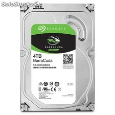 "Seagate BarraCuda Disco Duro Interno de 4 tb 3,5"" sata 6 GB/s"