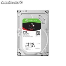 Seagate - nas hdd IronWolf 3TB 3000GB Serial ata iii disco duro interno