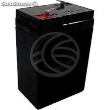 Sealed lead acid battery 6V 4Ah UPS replacement (UP91-0002)