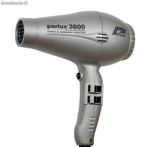 Secador Parlux 3800 eco friendly ceramic & ionic plata
