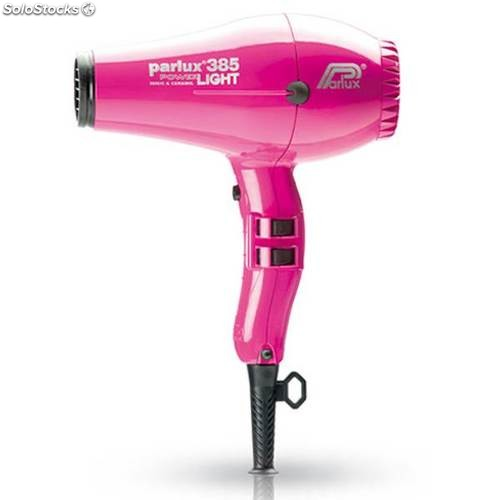 Secador Parlux 385 ionic & ceramic Power Light fucsia