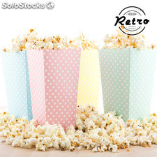 Secchiello per Pop Corn Topos Retro (pack da 10)