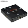 Selector de señal audio y video digital hdmi 3x1