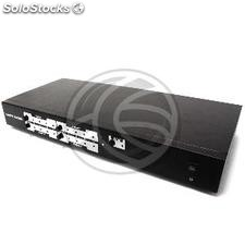 Selector matricial hdmi de 4 in a 4 out de rack 19 (HL42-0003)