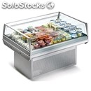 Self-service island display fridge - ideal for the display of pre-packed