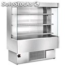 Self service multideck chiller - mod. silver - fully aisi 304 stainless steel -