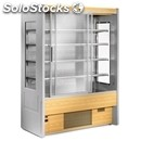 Self service refrigerated display unit with sliding doors-suitable for dairy and