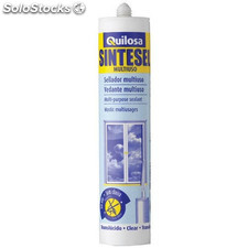 Sellador Sintetico Multiuso Blanco Cartu 300Ml Sintese 87387 Quilosa